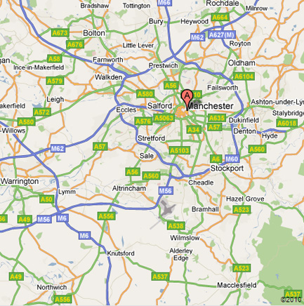 Timpson Locksmiths Area Map